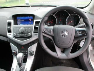 2014 Holden Cruze JH Equipe White Automatic Hatchback