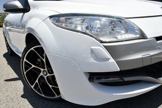 2011 Renault Megane III D95 R.S. 250 Cup Trophee White 6 Speed Manual Coupe.