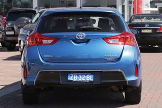 2014 Toyota Corolla ZRE182R Ascent Sport Tidal Blue 6 Speed Manual Hatchback