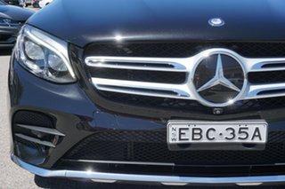 2015 Mercedes-Benz GLC-Class X253 GLC250 d 9G-Tronic 4MATIC Black 9 Speed Sports Automatic Wagon