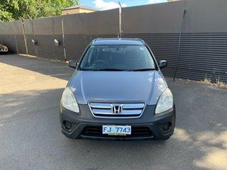 2006 Honda CR-V RD MY2006 4WD Grey 5 Speed Manual Wagon.