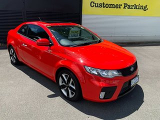 2012 Kia Cerato TD MY12 Koup SLS Red 6 Speed Sports Automatic Coupe.