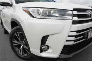 2017 Toyota Kluger GSU55R GX (4x4) White 6 Speed Automatic Wagon.