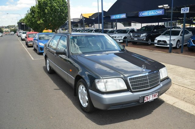 Used Mercedes-Benz 400 SEL Toowoomba, 1993 Mercedes-Benz 400 SEL Black 4 Speed Automatic Sedan