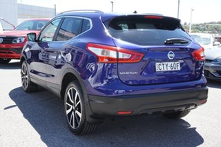 2014 Nissan Qashqai J11 TI Blue 1 Speed Constant Variable Wagon