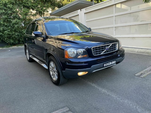Used Volvo XC90 P28 MY08 D5 Zetland, 2007 Volvo XC90 P28 MY08 D5 Blue 6 Speed Sports Automatic Wagon