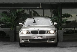 2010 BMW 1 Series E82 MY11 123d Steptronic Silver 6 Speed Sports Automatic Coupe.