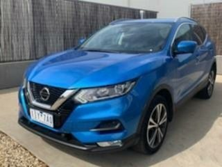 2018 Nissan Qashqai J11 MY18 ST-L Blue Continuous Variable Wagon.