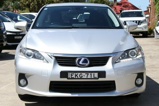 2012 Lexus CT 200H. Hybrid ZWA10R 13 Upgrade Prestige Silver Continuous Variable Hatchback