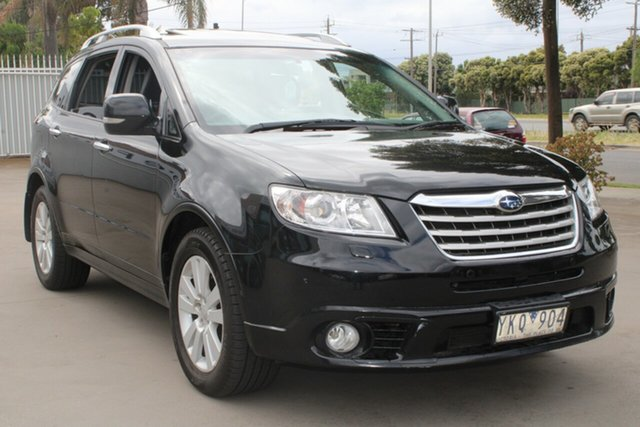 Used Subaru Tribeca MY11 3.6R Premium (7 Seat) West Footscray, 2011 Subaru Tribeca MY11 3.6R Premium (7 Seat) Black 5 Speed Auto Elec Sportshift Wagon