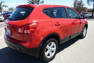 2009 Nissan Dualis J10 MY2009 Ti AWD Flame Red 6 Speed Manual Hatchback