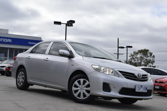 Used Toyota Corolla ZRE152R Ascent Ferntree Gully, 2010 Toyota Corolla ZRE152R Ascent Billet Silver 6 Speed Manual Sedan