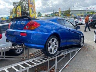 2004 Hyundai Tiburon V6 Blue 6 Speed Manual Coupe.