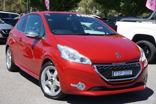 2014 Peugeot 208 A9 MY14 GTi Red 6 Speed Manual Hatchback.