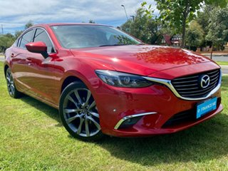 2015 Mazda 6 GJ1032 GT SKYACTIV-Drive Soul Red 6 Speed Sports Automatic Sedan.