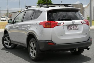2015 Toyota RAV4 ASA44R MY14 Upgrade GXL (4x4) Silver 6 Speed Automatic Wagon.