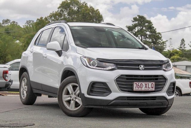 Used Holden Trax TJ MY18 LS Gympie, 2017 Holden Trax TJ MY18 LS White 6 Speed Automatic Wagon