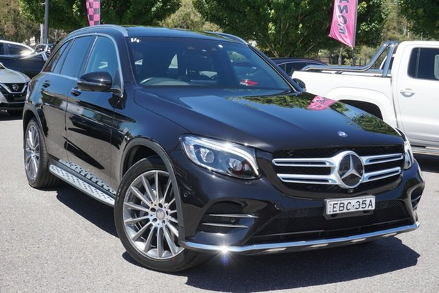 Used Mercedes-Benz GLC-Class X253 GLC250 d 9G-Tronic 4MATIC Phillip, 2015 Mercedes-Benz GLC-Class X253 GLC250 d 9G-Tronic 4MATIC Black 9 Speed Sports Automatic Wagon