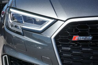 2017 Audi RS 3 8V MY17 S Tronic Quattro Grey 7 Speed Sports Automatic Dual Clutch Sedan