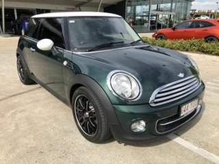 2012 Mini Hatch R56 LCI Cooper D Steptronic Green 6 Speed Sports Automatic Hatchback.