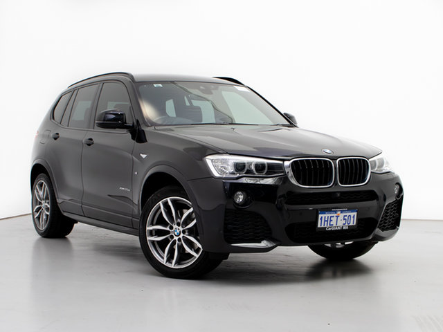 Used BMW X3 F25 MY17 xDrive20d, 2017 BMW X3 F25 MY17 xDrive20d Black 8 Speed Automatic Wagon