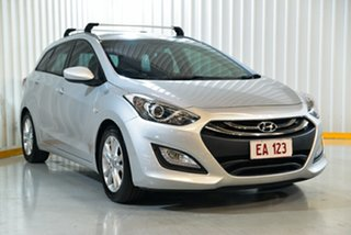 2013 Hyundai i30 GD Tourer Active 1.6 CRDi Silver 6 Speed Automatic Wagon