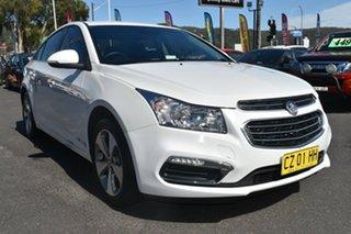 2016 Holden Cruze JH Series II MY16 Equipe Heron White 6 Speed Sports Automatic Sedan.