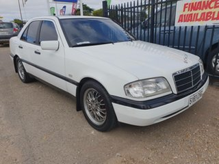 1996 Mercedes-Benz C-Class W202 C180 Esprit White 4 Speed Automatic Sedan.