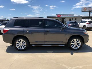 2010 Toyota Kluger GSU45R Altitude AWD Graphite 5 Speed Sports Automatic Wagon.