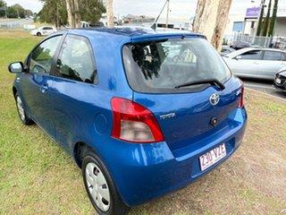 2008 Toyota Yaris NCP90R MY09 YR Blue 4 Speed Automatic Hatchback