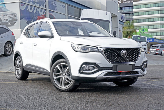 New MG HS SAS23 MY20 Excite DCT FWD Springwood, 2020 MG HS SAS23 MY20 Excite DCT FWD White 7 Speed Sports Automatic Dual Clutch Wagon