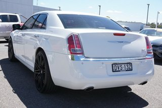 2013 Chrysler 300 LX MY13 C E-Shift Luxury White 8 Speed Sports Automatic Sedan