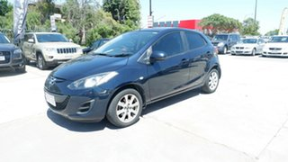 2014 Mazda 2 DE10Y2 MY14 Maxx Sport Blue 4 Speed Automatic Hatchback.