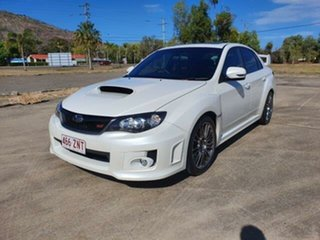2013 Subaru Impreza G3 MY13 WRX AWD STi Satin White 6 Speed Manual Sedan