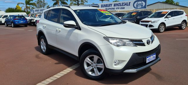 Used Toyota RAV4 ZSA42R MY14 GXL 2WD East Bunbury, 2014 Toyota RAV4 ZSA42R MY14 GXL 2WD Pearl White 7 Speed Constant Variable Wagon