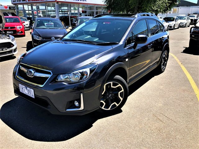 Used Subaru XV G4X MY16 2.0i-L Lineartronic AWD Seaford, 2016 Subaru XV G4X MY16 2.0i-L Lineartronic AWD Black 6 Speed Constant Variable Wagon