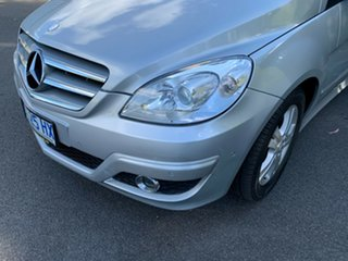2008 Mercedes-Benz B-Class W245 MY08 B180 CDI Silver 7 Speed Constant Variable Hatchback