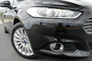 2015 Ford Mondeo MD Trend TDCi Black 6 Speed Automatic Wagon.