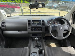 2009 Nissan Navara D40 RX 4x2 Silver 6 Speed Manual Utility