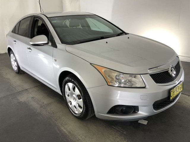 Used Holden Cruze JH Series II MY11 CD Maryville, 2011 Holden Cruze JH Series II MY11 CD Silver 6 Speed Sports Automatic Sedan