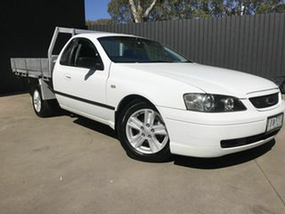 2003 Ford Falcon BA XL (LPG) White 4 Speed Auto Seq Sportshift Utility.