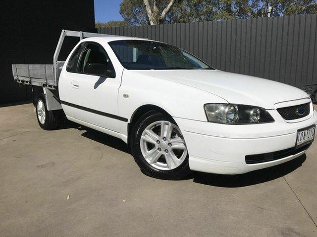 Used Ford Falcon BA XL (LPG) Fawkner, 2003 Ford Falcon BA XL (LPG) White 4 Speed Auto Seq Sportshift Utility