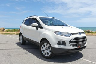 2016 Ford Ecosport BK Trend PwrShift White 6 Speed Sports Automatic Dual Clutch Wagon.