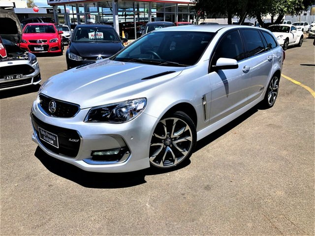Used Holden Commodore VF II MY16 SS V Sportwagon Seaford, 2016 Holden Commodore VF II MY16 SS V Sportwagon Silver 6 Speed Sports Automatic Wagon