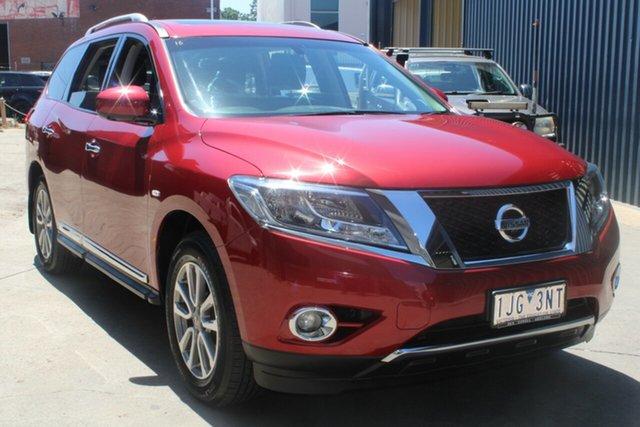 Used Nissan Pathfinder R52 MY15 ST-L (4x2) West Footscray, 2016 Nissan Pathfinder R52 MY15 ST-L (4x2) Continuous Variable Wagon