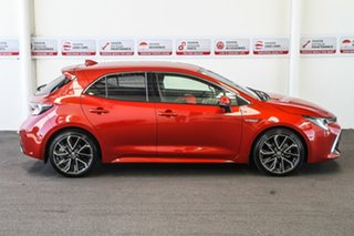 2019 Toyota Corolla ZWE211R ZR E-CVT Hybrid Volcanic Red 10 Speed Constant Variable Hatchback Hybrid.