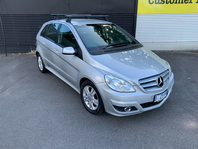 Used Mercedes-Benz B-Class W245 MY08 B180 CDI Launceston, 2008 Mercedes-Benz B-Class W245 MY08 B180 CDI Silver 7 Speed Constant Variable Hatchback