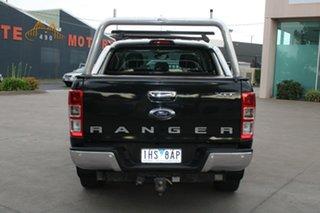 2016 Ford Ranger PX MkII XLT 3.2 (4x4) Black 6 Speed Manual Dual Cab Utility