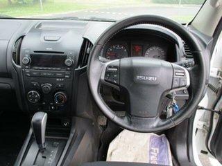2015 Isuzu D-MAX SX SX White Automatic Cab Chassis