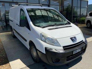 2008 Peugeot Expert G9P 2.0 HDi LWB White 6 Speed Manual Van.